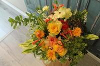 お祝いの花 - 北赤羽花屋ソレイユの日々の花