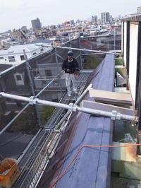 外装屋根葺き工事進行中。 - 一場の写真 / 足立区リフォーム館・頑張る会社ブログ