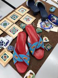 プラナカンビーズ刺繍 大阪教室 - プラナカンビーズ刺繍  ビーズワークと旅