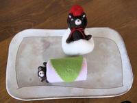 いちご大福&桜餅。 - こひつじ的生活~羊毛フェルトで作る小さな世界