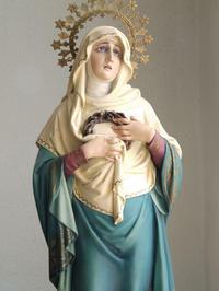 悲しみの聖母マリア像 マーテル・ドロローサ /G166 - Glicinia 古道具店