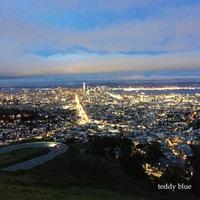 The last night in San Francisco サンフラン最後の夜に - teddy blue