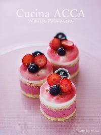試作中~~Mousse Primavera(ムース・プリマヴェーラ) - Cucina ACCA