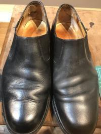修理腰裏(カウンター) - Shoe Care & Shoe Order 「FANS.浅草本店」M.Mowbray Shop