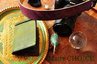 イタリアンレザー・プエブロ・ジョッターケースとカメラストラップ - 時を刻む革小物 Many CHOICE~ 使い手と共に生きるタンニン鞣しの革