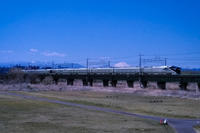 2019.4.13TRAIN SUITE 四季島と富士山(中央線多摩川鉄橋) - ダイヤモンド△△追っかけ記録
