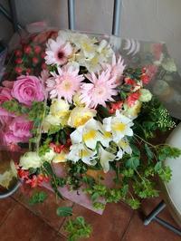 花束ラッシュ - フラワーショップデリカの花日記