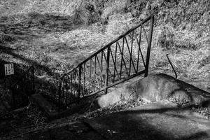 階段だけが残る廃駅 - Silver Oblivion