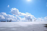 春の景色と冬景色のマイルドセブンの丘VOL.3~4月の美瑛 - My favorite ~Diary 3~
