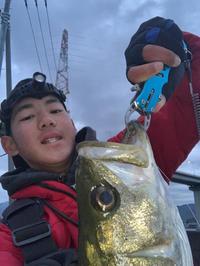 まさかの… - 広島の〜中学生Seabass angler