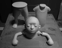 石膏で成型 - 川埜龍三の蔵4号
