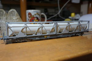 【鉄道模型・HO】3Dプリンター UT26C LNGタンクコンテナ を量産。 - kazuの日々のエキサイトな企み!