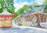 高尾山薬王院 - 坂上尚子美術館