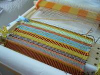 ラーヌ織り、千鳥格子、段染めetc - アトリエひなぎく 手織り日記