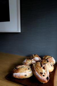 レーズンパン&お知らせ - KuriSalo 天然酵母ちいさなパン教室と日々の暮らしの事