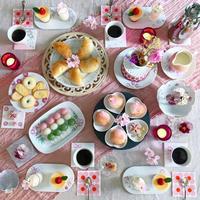 桜色 de おもてなし - nico☆nicoな暮らし~絵付けと花とおやつ