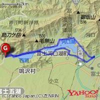 4/13(土)西湖・河口湖・新倉山公園39km - 山to バイクto Qoo の楽園
