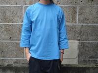CAMBER (キャンバー) 8oz MAX WEIGHT CUT 8分袖 T-SHIRT GARMENT DYED サックス - セレクトショップ REGULAR (レギュラー仙台) | ブログ