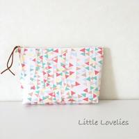 B6マチ付きポーチ - Little Lovelies