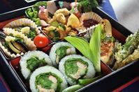 ■【季節を奏でる行楽弁当】菜園野菜をふんだんに使いました♪ - 「料理と趣味の部屋」