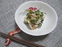 ぱぱっと和えるだけ!サラダチキンと貝割れの梅しそ和え - candy&sarry&・・・2