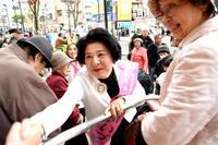 清瀬市長候補池田いづみさん - こんにちは 原のり子です
