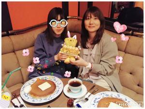 19年 700枚めの サプライズ☆彡 - 菓子と珈琲 ラランスルール 店主の日記。
