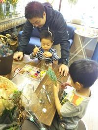 イケメン兄弟と美人姉妹のレッスン4.15 - 北赤羽花屋ソレイユの日々の花