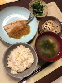いわしのみぞれ煮 - 庶民のショボい食卓