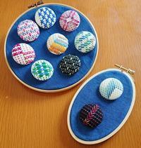 スウェーデン刺しゅうワークショップin札幌2 - スウェーデン刺繍の仕事帖