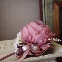 入学式のオーダーコサージュ(2) - 森の工房 Flower Work ナチュラルスローな空間
