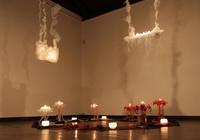 平山りえキャンドル作品展ー美しき星霜ー - くわみつの和み時間