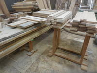 カップボードの段取り - 手作り家具工房の記録