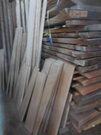 食器棚(カップボード)の荒削り - 手作り家具工房の記録