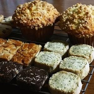 クッキー3種とフロランタン、クランブルバナナマフィン♪ - la la la kitchen 2 ♪