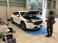 マツダ CX-8 アーシング施工(ガソリン2.5ターボ) - 「ワッキーの自動車実験教室」 ワッキー@日記でごじゃる