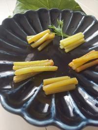 ふきの色々漬け - 料理研究家ブログ行長万里  日本全国 美味しい話