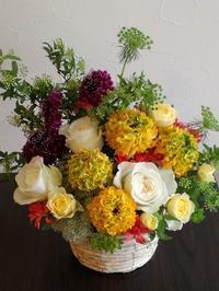 19日(金)営業時間変更のお知らせ - フラワーショップデリカの花日記