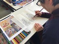 仏画曼荼羅アートを楽しむ。泉佐野市生涯学習センター - ライブ インテリジェンス アカデミー(LIA)