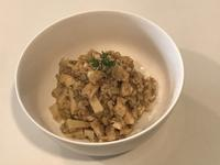 筍と油揚げとタイムの玄米リゾット - はなひかり2