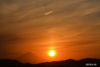 この日は‥‥ 『90km先の富士』⑨ - 写愛館