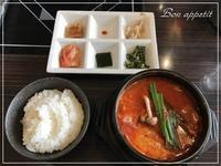 『プロカンジャンケジャン』でスンドゥブランチ@大阪/北新地 - Bon appetit!