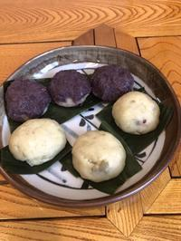 スイートポテトあんころ団子と蒸し饅頭 - 物好き親爺のつくりんぼ日記