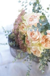 ブーケ専科からディプロマコースへ移行 - お花に囲まれて