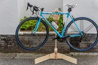 ロードバイク調整用の架台、ようやく完成 - デジカメ写真集