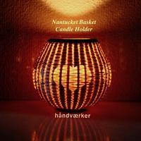 candle holder - handvaerker ~365 days of Nantucket Basket~