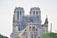ノートルダム寺院の大火災、その後。2019年4月17日 - keiko's paris journal <パリ通信 - KSL>