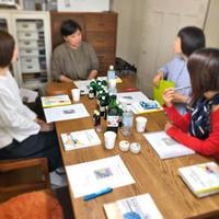 「刺繍教室 de ホメオパシー講座 第1期(7)」開催しました - 浜松の刺繍教室 l'Atelier de foyu の 日々