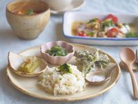 春の山菜朝ごはん - 陶器通販・益子焼 雑貨手作り陶器のサイトショップ 木のねのブログ