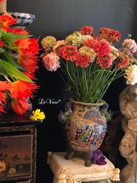 Muse Montmartreプライベートレッスン - Le vase*  diary 横浜元町の花教室